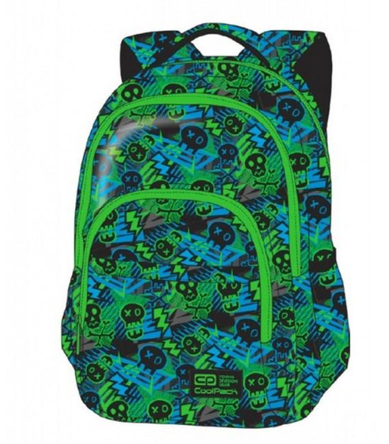 Mochila Escolar Basic Plus Xo Skull Coolpack