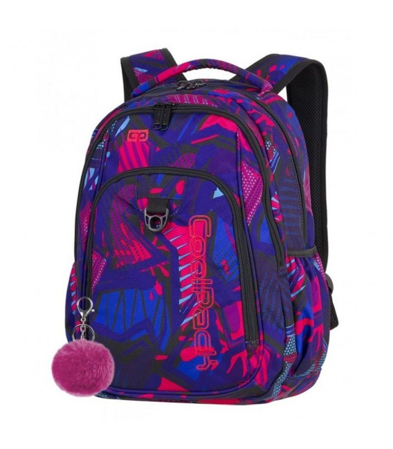 Mochila Escolar Strike 26L Crazy Pink Abstract Coolpack