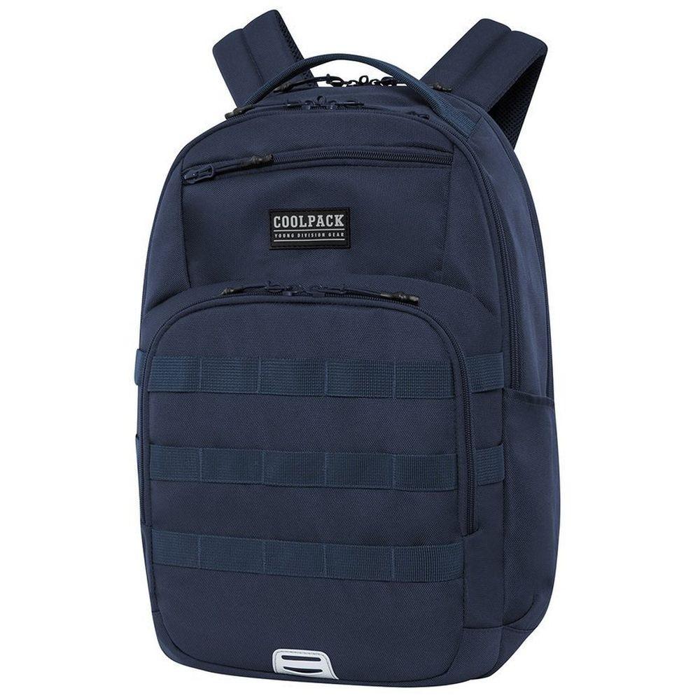 Mochila Escolar Army Azul Collpack