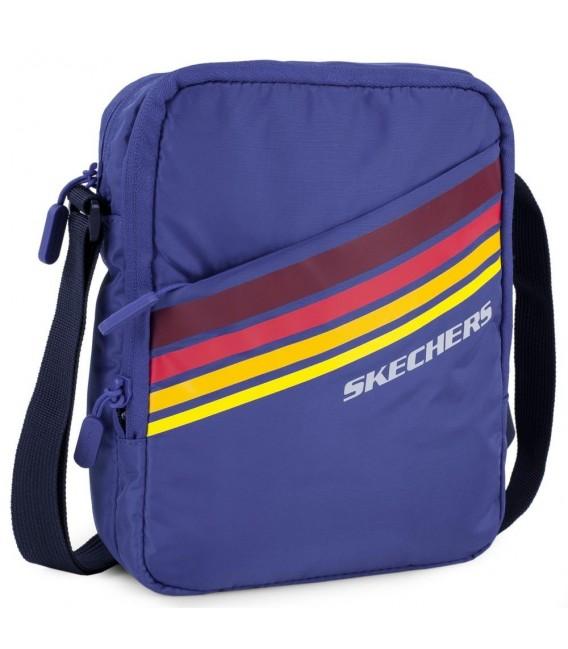 Bolso Bandolera Hombre Skechers Set Azul