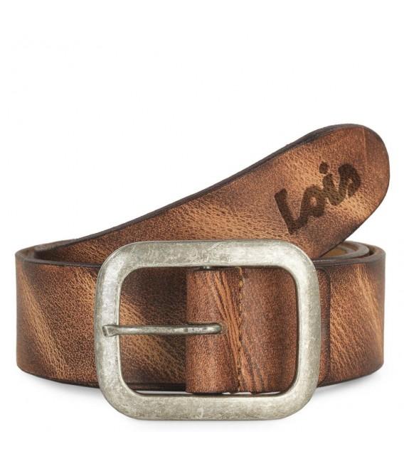 Cinturon Piel Genuina 40Mm De Mujer/Hombre Lois Cinturones T-XL Marrón