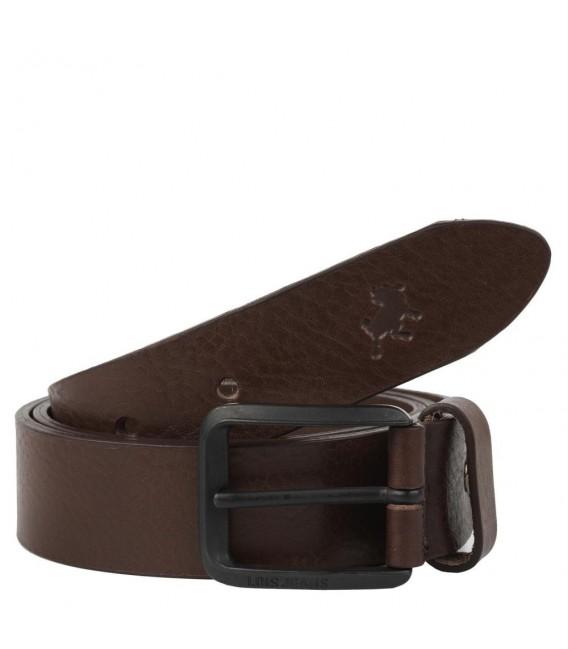 Cinturon Piel Genuina 35Mm De Mujer/Hombre Lois Cinturones T-L Marrón