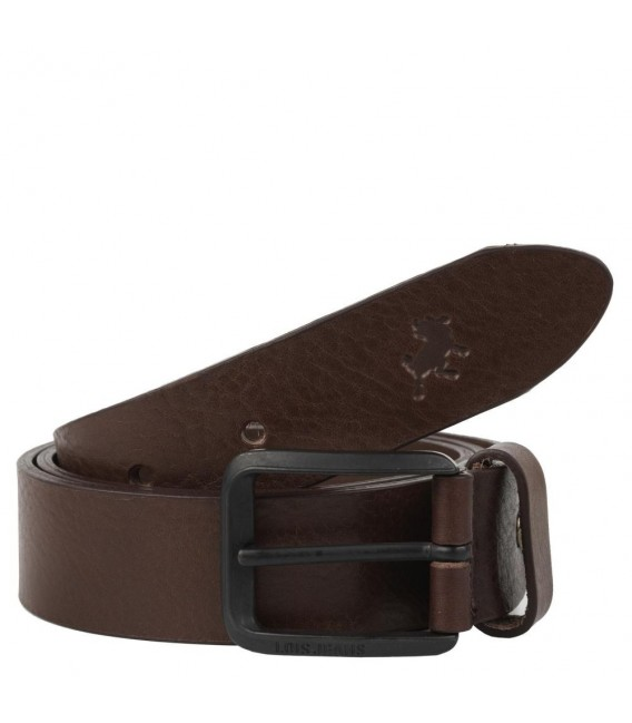 Cinturon Piel Genuina 35Mm De Mujer/Hombre Lois Cinturones T-XL Marrón