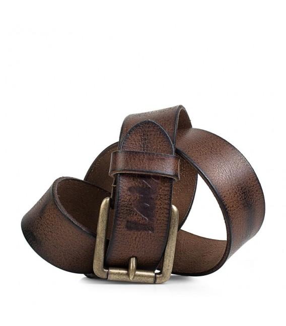 Cinturon Piel Genuina 40Mm De Mujer/Hombre Lois Cinturones T-M Marrón