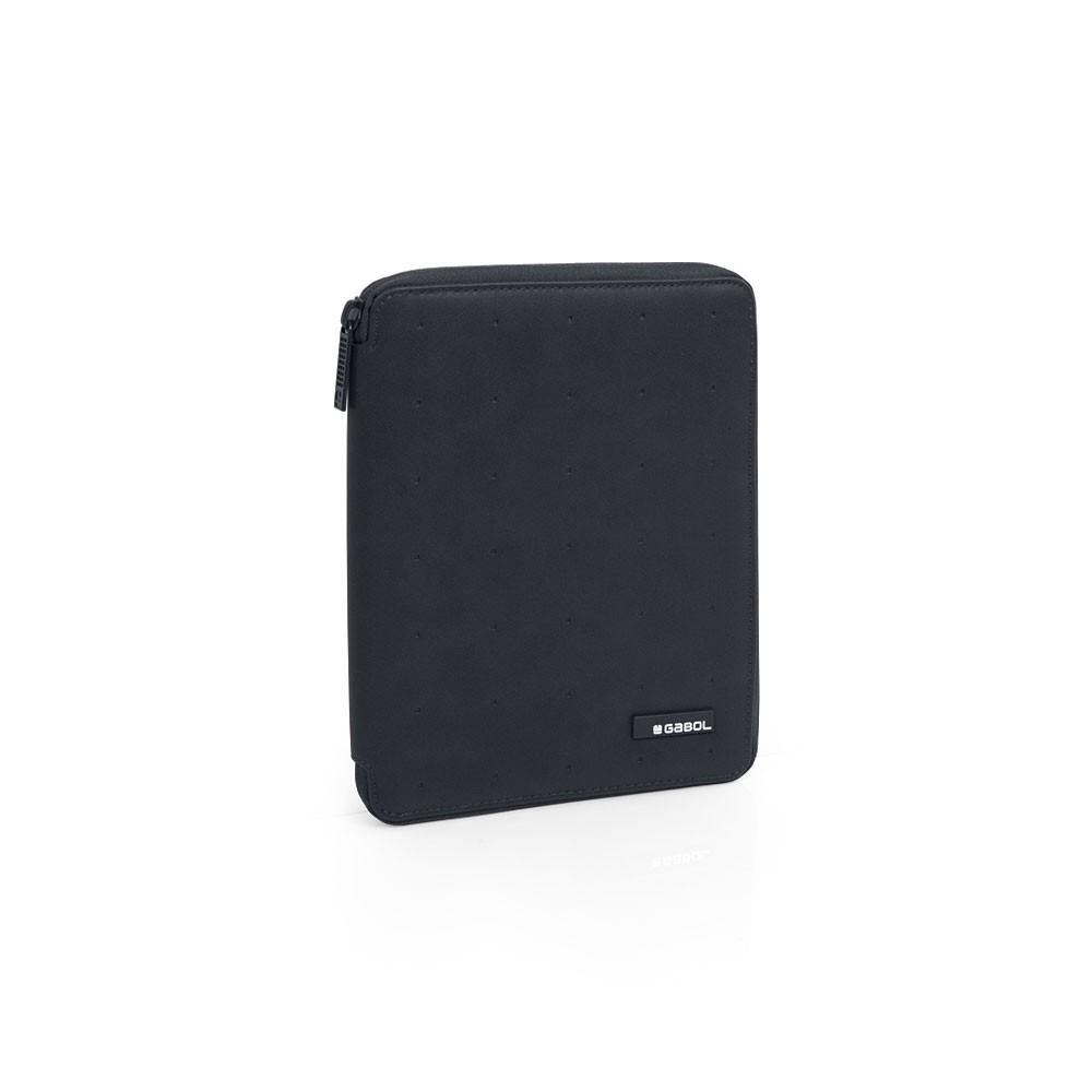 Portafolio A5 Clasificador Gabol Alpha Negro