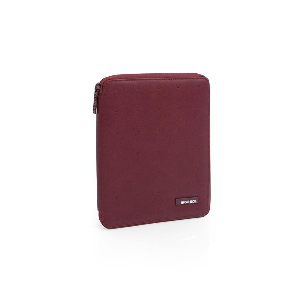 Portafolio A5 Clasificador Gabol Alpha Rojo