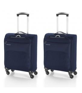 Juego 2 maletas cabina Gabol Zambia Azul