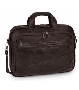"Cartera Portatil 15,6"" Gabol Civic Chocolate"