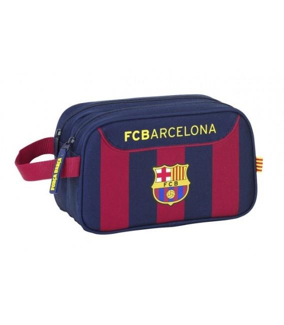 Neceser asa dos cremalleras Fc Barcelona