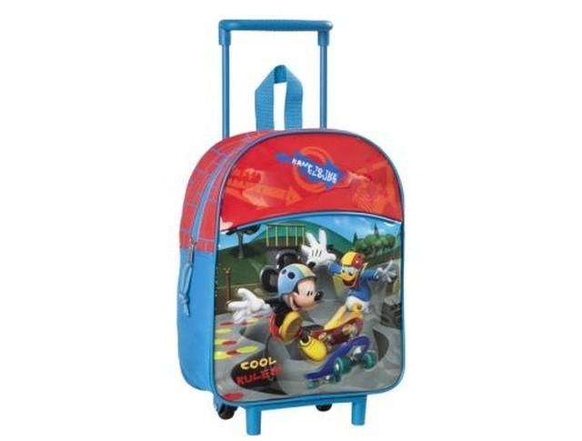 Mochila carro Infantil Mickey y Donald