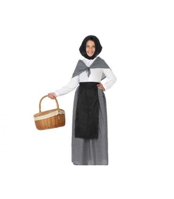 Disfraz vieja Castañera talla 7-9
