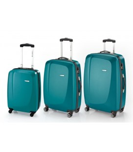 Juego de 3 maletas Gabol Line Turquesa